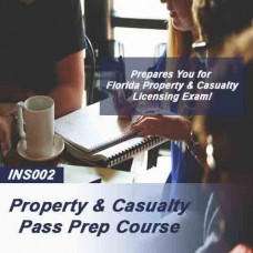 Property & Casualty Cram Course Flash Cards (INS002)